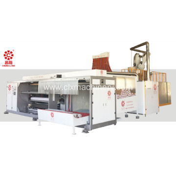 New High-speed Four-shafts Roll Changing Casting Film Machine